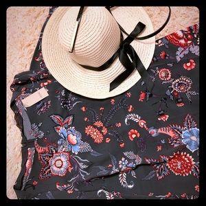 Loft Dress- In Flower Heavens